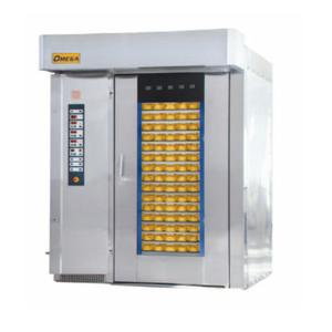Rotary rack ovens