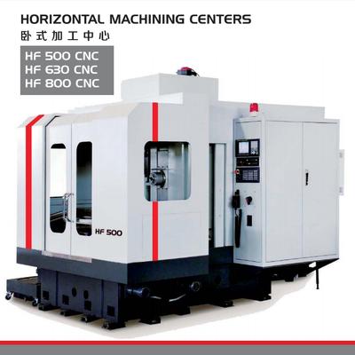 HORIZONTAL MACHINING CENTERS HF 500/630/800