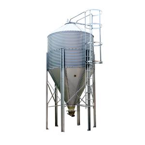 Galvanized feed tower assorted storage bin
