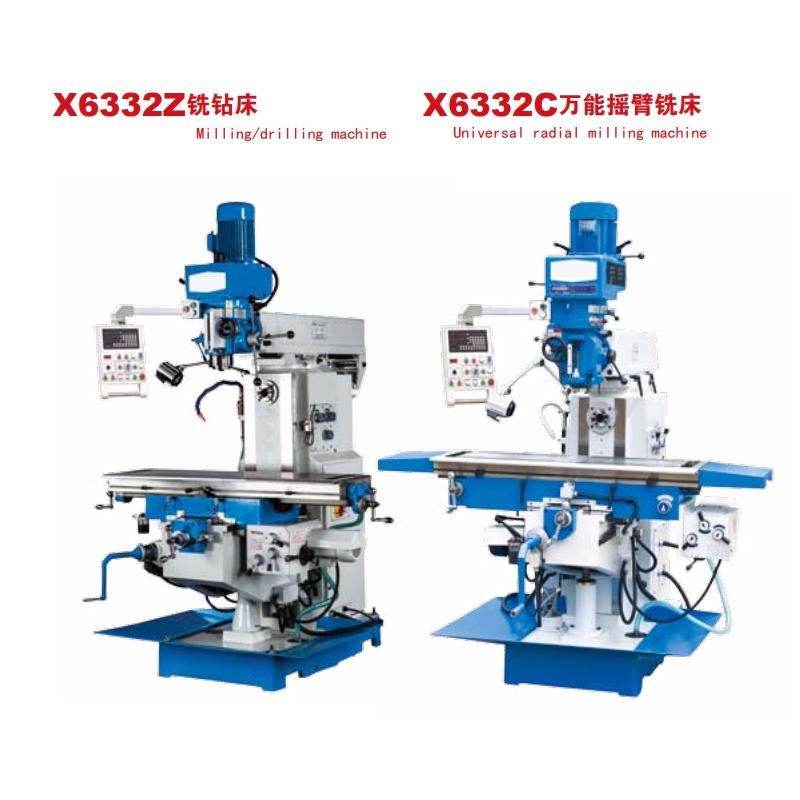 Universal radial milling machine X6332Z/X633C